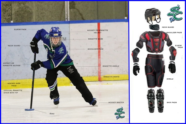 Required / recommended ringette equipment